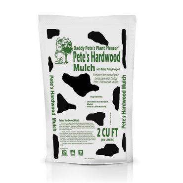 Daddy Pete's Plant Pleaser Hardwood Mulch 2CF