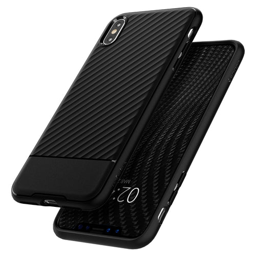 Custodia iPhone XS MAX Spigen Core Armor Cover Case-nero