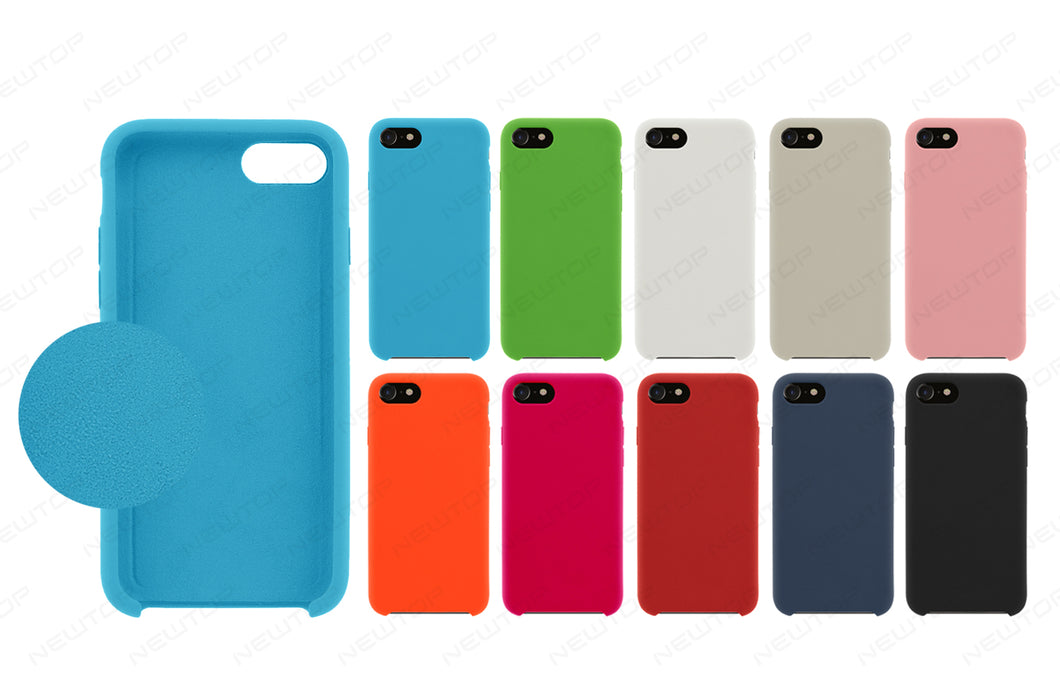 COVER SILICONE PER APPLE IPHONE XR ORI CASE TPU CUSTODIA GOMMA SEMI MORBIDA  Aran