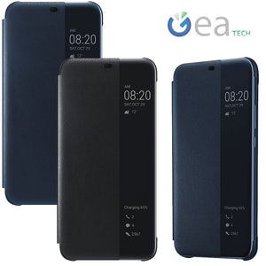 Custodia SMART VIEW FLIP COVER originale Huawei per Mate 20 Lite con  finestra