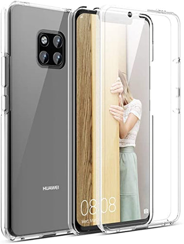 Cover Custodia 360 Gradi Full Body Trasparente per HUAWEI MATE 20 PRO