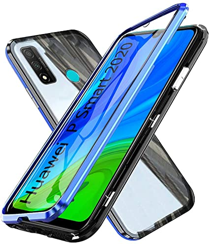 Custodia Huawei P Smart (2020) Pellicola Integrata Full 360 Cover  Trasparente