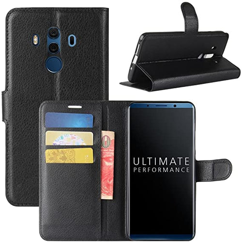 Wallet Flip Card Slot Stand Case Cover For Huawei Mate 10 Pro / Mate 10
