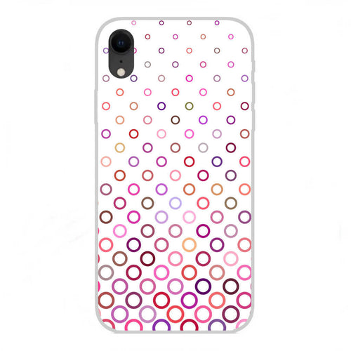 Custodia Cover Disegno ASTRATTA 020 per APPLE IPHONE XR TPU Gel Silicone