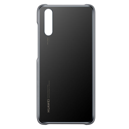 Custodia Back Cover Silicon Gel Case Tpu Retro Originale Huawei Per P20 Pro