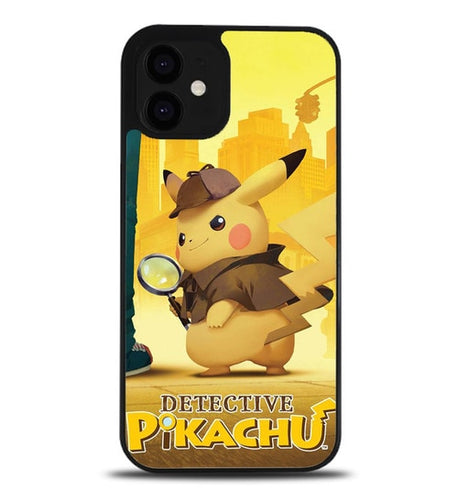 custodia cover iphone 12/12 mini/12 pro/12 pro max Detective Pikachu Z4751