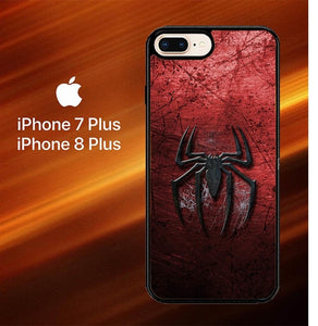 Custodia Cover iphone 7 plus 8 plus Spiderman Logo O0757 Case