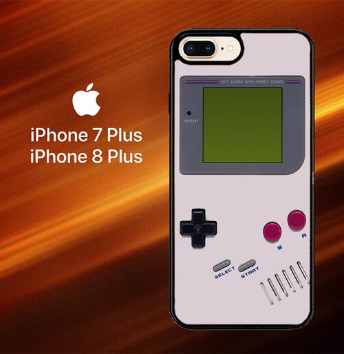 Custodia Cover iphone 7 plus 8 plus Classic Retro Gameboy O3523 Case