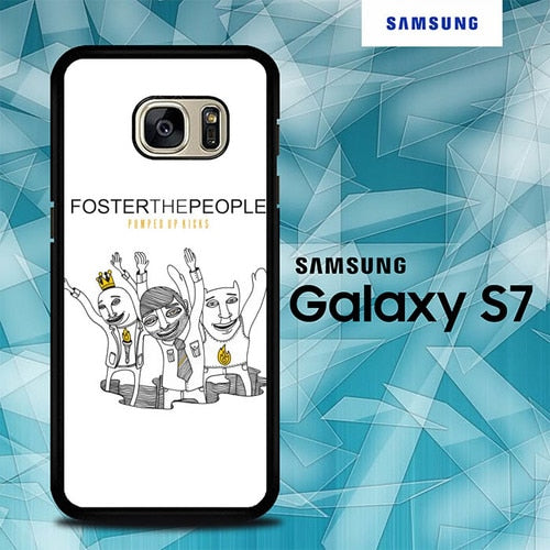 Custodia Cover samsung galaxy s7 s7 edge plus Foster The People O7551 Case