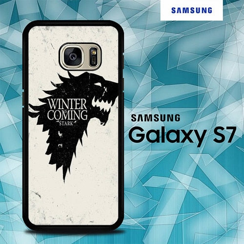 Custodia Cover samsung galaxy s7 s7 edge plus Game Of Thrones Stark O7560 Case