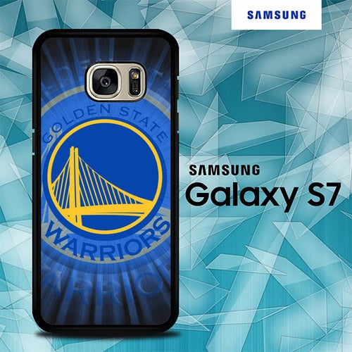 Custodia Cover samsung galaxy s7 s7 edge plus Golden State Warriors Logo O7566 Case
