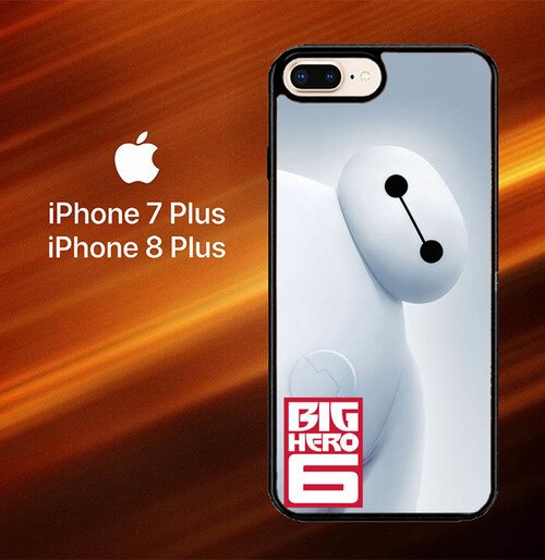 Custodia Cover iphone 7 plus 8 plus Disney Movie Big Hero 6 O0466 Case