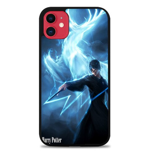 Custodia Cover iphone 11 pro max Expecto Patronum Harry Potter Z0229 Case