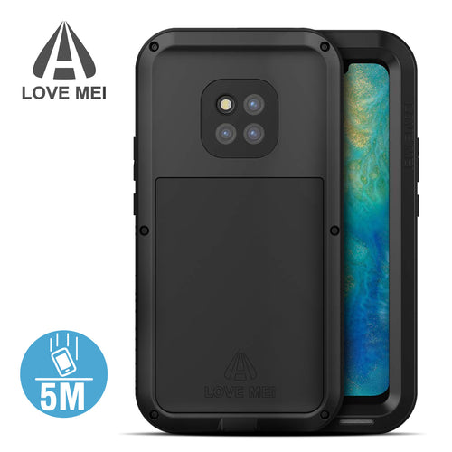 Cover Huawei Mate 20 Pro Serie Antishock Powerful Love Mei Nero