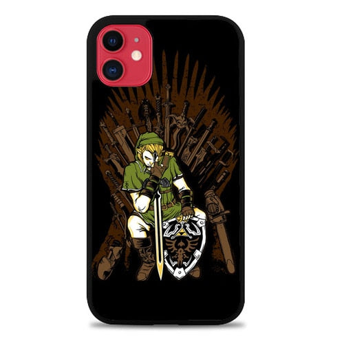 Custodia Cover iphone 11 pro max Game of Blades Zelda Link Case
