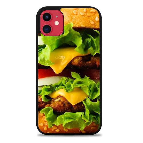 Custodia Cover iphone 11 pro max Cheese Burger Z0715 Case
