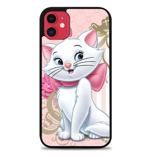 Custodia Cover iphone 11 pro max Marie The Cat Z0727 Case