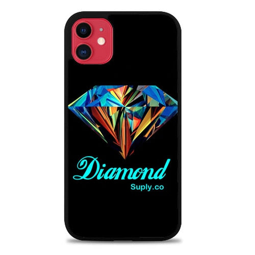 Custodia Cover iphone 11 pro max Diamond Supply Co Case