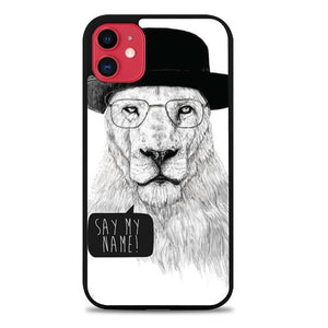 Custodia Cover iphone 11 pro max Breaking Bad Lion Case