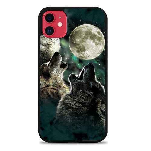 Custodia Cover iphone 11 pro max Wolfes Moon Case