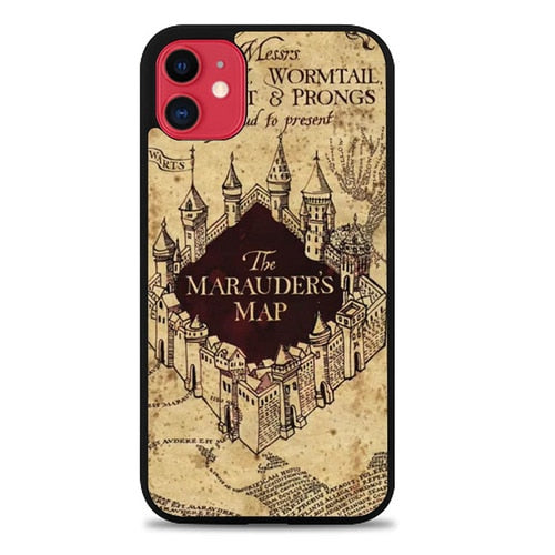 Custodia Cover iphone 11 pro max Marauders map Case