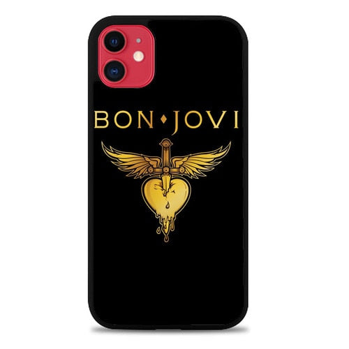 Custodia Cover iphone 11 pro max Bon Jovi Logo Case