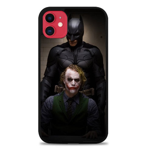 Custodia Cover iphone 11 pro max BATMAN AND JOKER IN THE DARK KNIGHT F0321 Case - custodia cover samsung/iphone/huawei taichitaoista.it