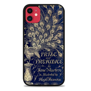 Custodia Cover iphone 11 pro max Cover Book Jane Austen Z0111 Case
