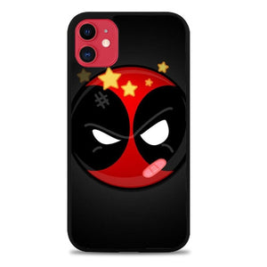 Custodia Cover iphone 11 pro max Deadpool Superhero Logo Z0162 Case