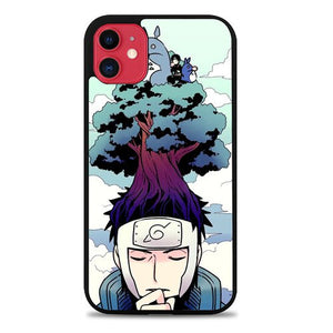 Custodia Cover iphone 11 pro max Neigbhor Totoro Meet Naruto Z0254 Case
