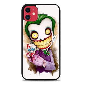 Custodia Cover iphone 11 pro max Funny Joker Face Z02324 Case