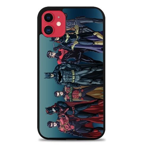 Custodia Cover iphone 11 pro max Batman Batfamily Z0351 Case - custodia cover samsung/iphone/huawei taichitaoista.it