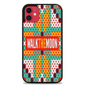 Custodia Cover iphone 11 pro max walk the moon band logo Z0448 Case