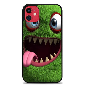 Custodia Cover iphone 11 pro max 3d Funny Monster Cute Z0568 Case