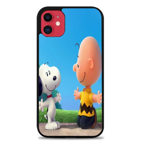 Custodia Cover iphone 11 pro max peanuts movie Z0850 Case