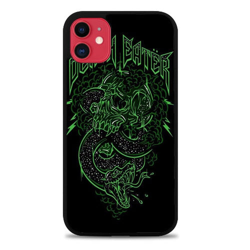 Custodia Cover iphone 11 pro max Skulls Snakes Harry Potter Death Eaters Z0879 Case