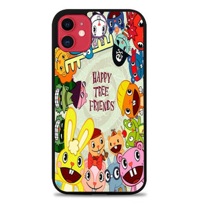 Custodia Cover iphone 11 pro max happy tree friends character Z0900 Case