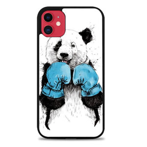 Custodia Cover iphone 11 pro max The Winner Panda Animal Z0945 Case