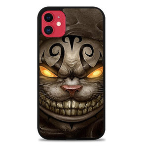 Custodia Cover iphone 11 pro max Alice Madness Returns Cheshire Cat Z0999 Case