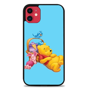 Custodia Cover iphone 11 pro max Funny Winnie The Pooh and Piglet Z1060 Case