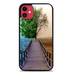Custodia Cover iphone 11 pro max Ocean And Desert Z1130 Case