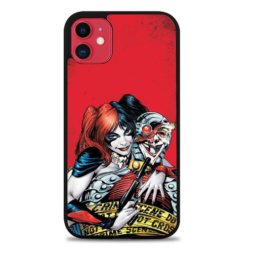 Custodia Cover iphone 11 pro max HARLEY QUINN BAD Z1185 Case