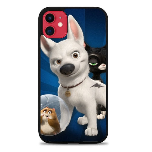 Custodia Cover iphone 11 pro max bolt movie characters Z1188 Case