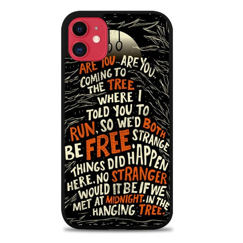Custodia Cover iphone 11 pro max The Hanging Tree Z1434 Case