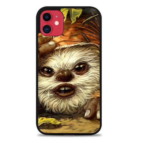 Custodia Cover iphone 11 pro max Ewok Forest Scout Star Wars Z1637 Case