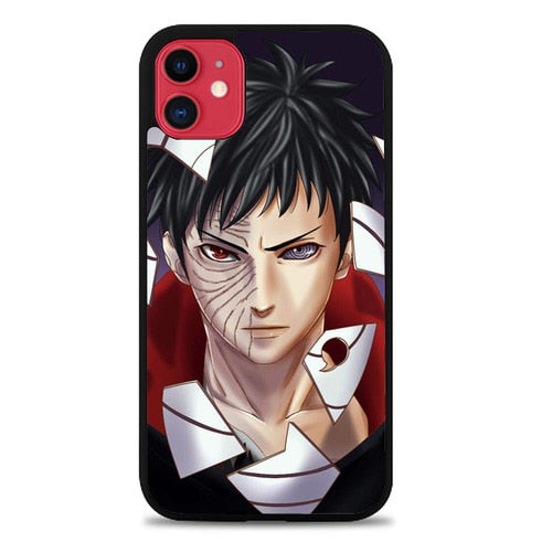 Custodia Cover iphone 11 pro max obito uchiha Z1648 Case