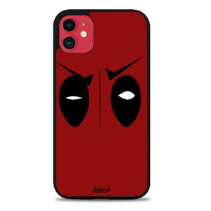 Custodia Cover iphone 11 pro max Deadpool minimalist Z1682 Case
