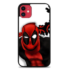 Custodia Cover iphone 11 pro max Deadpool cool Z1685 Case