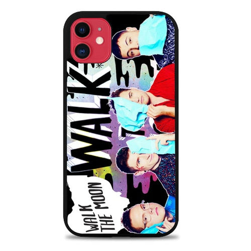 Custodia Cover iphone 11 pro max walk the moon band Z2100 Case