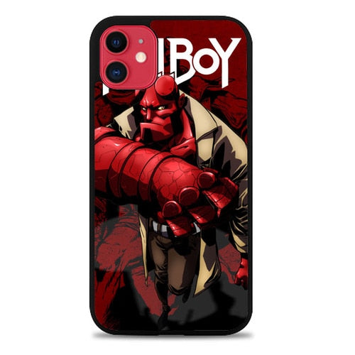 Custodia Cover iphone 11 pro max hellboy Z2287 Case